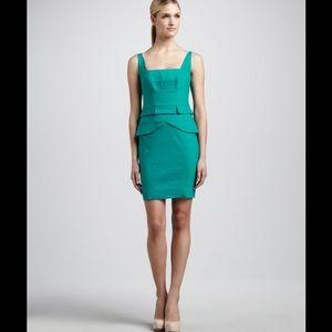 Nicole Miller Artelier sheath peplum dress